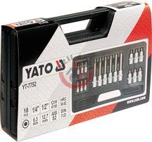 YATO 7752 Rátűzőkulcs készlet