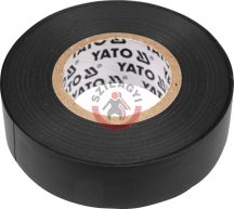 YATO 8159 Szigetelőszalag Fekete 0,13mm x 15mm x 10m