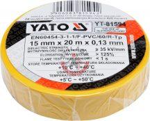 YATO 81594 Szigetelőszalag 15mm*20m*0.13mm