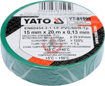 YATO 81595 Szigetelőszalag 15mm*20m*0.13mm