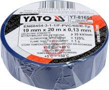 YATO 81651 Szigetelő szalag 20m Kék