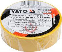 YATO 81654 Szigetelő szalag 20m Sárga