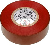 YATO 8166 Szigetelő szalag 20m Piros