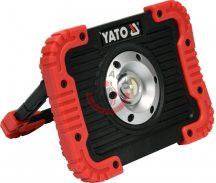 YATO 81820 LED reflektor USB-s 10W 800lm akkus