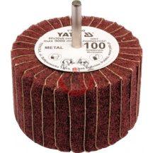 YATO 83399 Kombinált csapos lamellás csiszoló 80x50x6mm P100