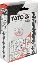 """YATO 84943 Lánc 72 szem 0,325"""" 1,5mm"""