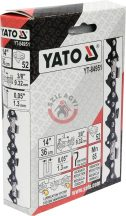 """YATO 84951 Lánc 52 szem 3/8"""" 1.3mm"""